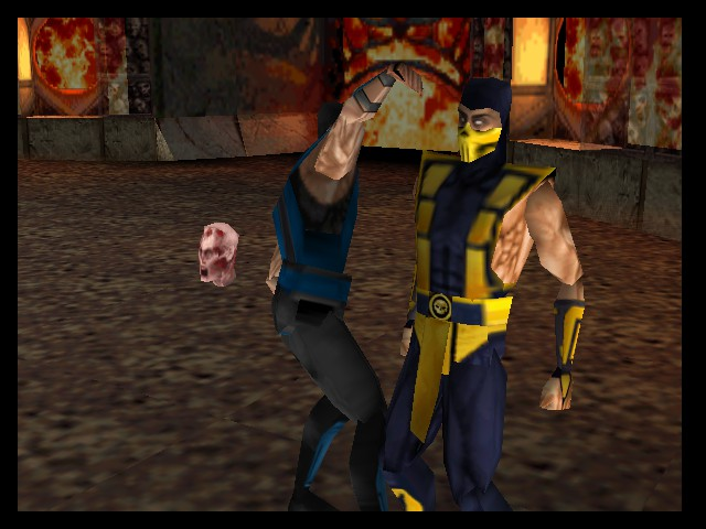Mortal Kombat 4 - my hair  - User Screenshot